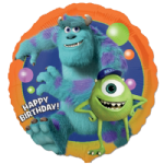 "18"" Monsters University Happy Birthday Foil Balloon"